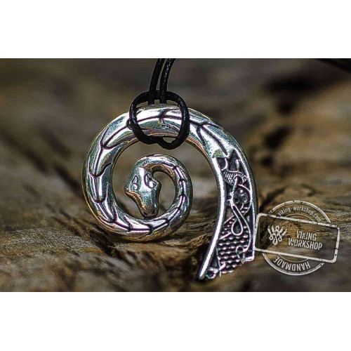 Drakkar Pendant Sterling Silver Viking Necklace
