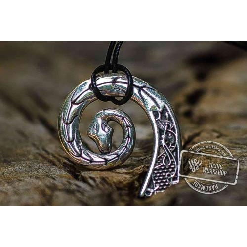 Drakkar Pendant Sterling Silver Viking Necklace