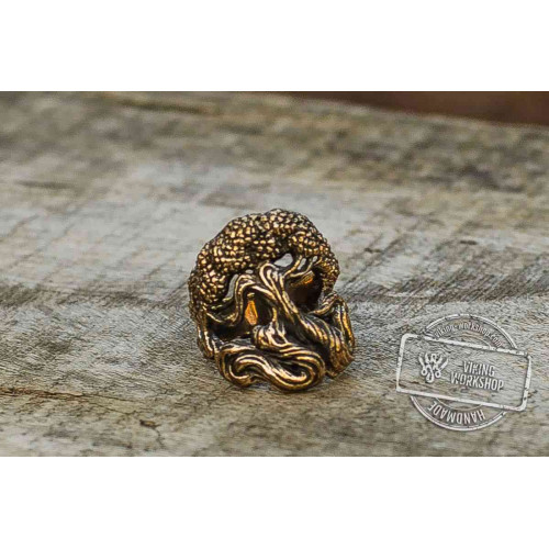 Yggdrasil World Tree Bronze Viking Ring