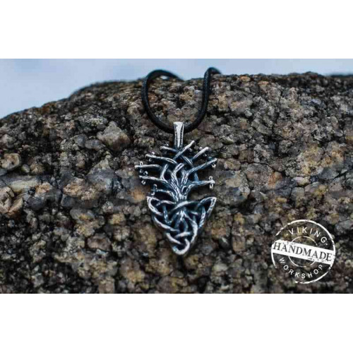 Yggdrasil World Tree Sterling Silver Pendant