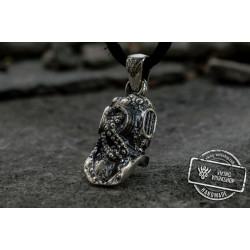 Atmospheric Diving Suit Pendant Sterling Silver Jewelry