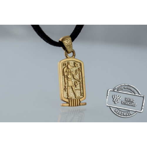 Anubis Pendant Gold Egypt Jewelry