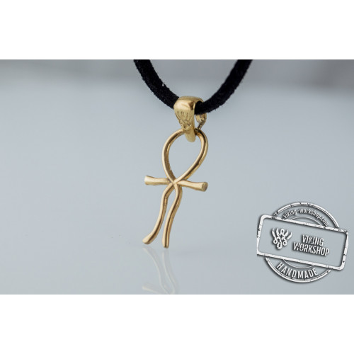 Ankh Symbol Egypt Pendant Gold Unique Jewelry