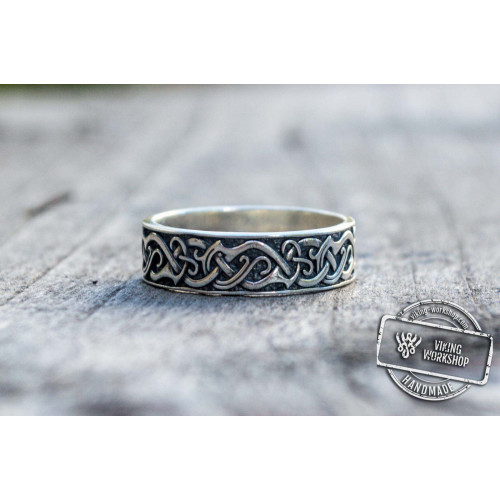 Ornament Ring Sterling Silver Handcrafted Jewelry
