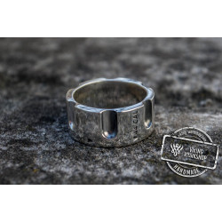 Revolver Drum Ring Sterling Silver Unique Handmade Jewelry