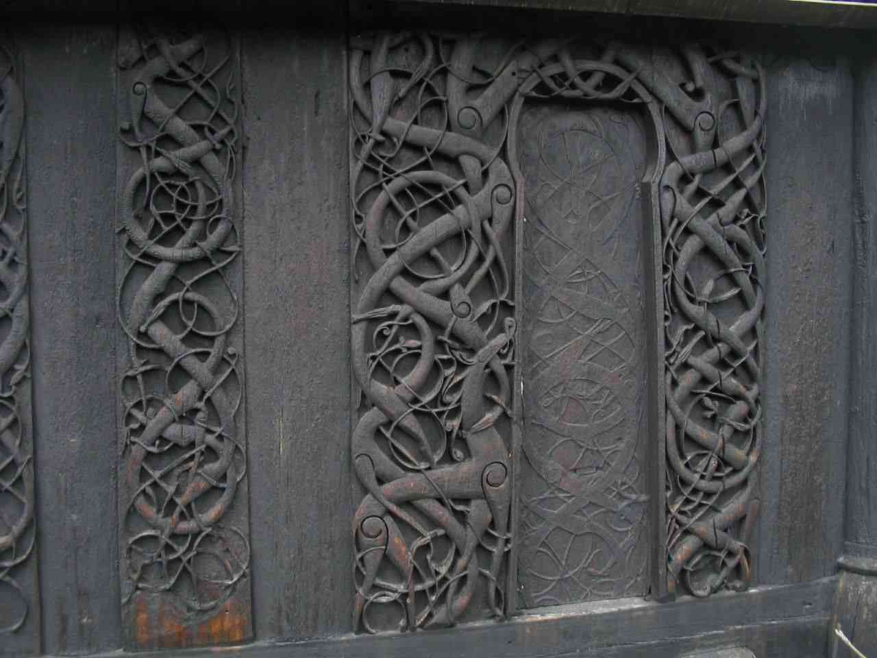 Urnes Stave Church carving